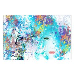 Tablou DualView Startonight Duplicitate, luminos in intuneric, 80 x 120 cm
