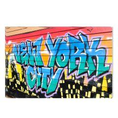 Tablou DualView Startonight Graffity, luminos in intuneric, 80 x 120 cm