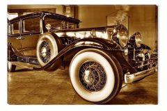 Tablou DualView Startonight Masina retro, luminos in intuneric, 60 x 90 cm