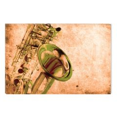 Tablou DualView Startonight Saxofon, luminos in intuneric, 60 x 90 cm