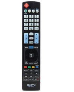 Telecomanda Universala HUAYU RM-L930+1, cu Functii Multimedia Compatibila cu Televizoarele LG, Negru