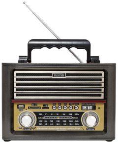Radio cu MP3 Player Kemai MD-1705U FM/AM/SW3, Negru