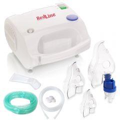 Aparat aerosoli RedLine NB-230C Pro, nebulizator cu compresor, masca nou nascuti, medie si de adulti