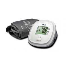 Tensiometru electronic de brat Nissei DS 10a, Afisaj LCD, detectie body motion, Alimentator inclus, Alb
