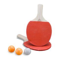 Set palete tenis de masa 5 mm + 3 mingi  KING SPORT