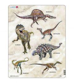 Puzzle Dinozauri, 30 Piese Larsen LRX12