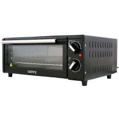 Cuptor Electric Camry, Ideal pentru Pizza, Putere 1300W, Timer si Reglaj Temperatura 100-230 Grade