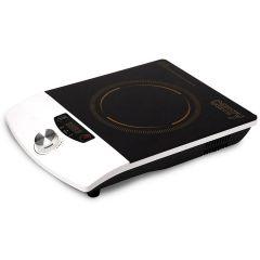 Plita Electrica Ceramica cu Inductie, 1 Zona Incalzire, Control Temperatura, Afisaj LCD, Timer Incorporat, Putere 1500W