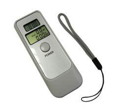 Alcoolmetru - Tester de alcoolemie digital cu ceas, alarmă, cronometrusi termometru