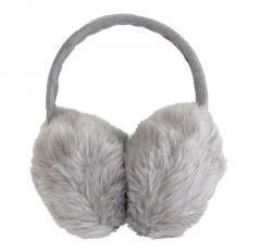 Casti protectie urechi impotriva frigului si a vantului, culoare Gri