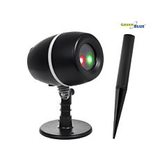 Proiector LED Laser pentru Exterior sau Interior tip Star Shower cu Lumini Rosii si Verzi