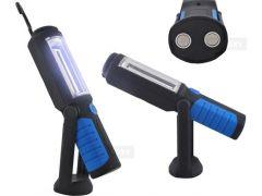 Lanterna lampa LED Lucru pentru atelier 3W cu suport magnetic si carlig