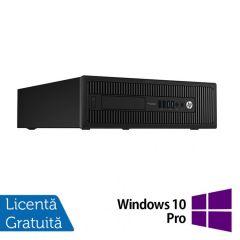 Calculator Reconditionat HP Prodesk 600G1 SFF Intel Core i3-4130 3.40GHz 8GB DDR3 500GB SATA DVD-RW + Windows 10 Pro