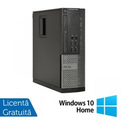 Calculator Reconditionat DELL OptiPlex 9010 SFF Intel Core i5-3570 3.40GHz up to 3.80GHz 8GB DDR3 500GB SATA DVD-RW + Windows 10 Home