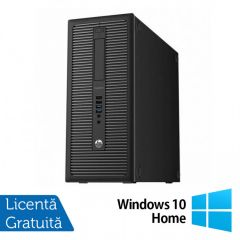 Calculator Reconditionat HP EliteDesk 800 G1 Tower Intel Core i3-4130 3.40GHz 8GB DDR3 500GB SATA DVD-RW + Windows 10 Home