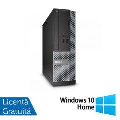 Calculator Reconditionat DELL Optiplex 3020 SFF Intel Core i5-4570s 2.90GHz up to 3.60GHz 4GB DDR3 500GB SATA DVD-RW + Windows 10 Home
