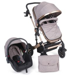 Carucior transformabil 3 in 1 Darling Beige