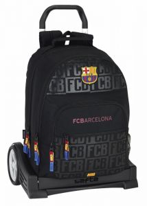 Ghiozdan 560 cu troler Evolution F.C. BARCELONA BLACK