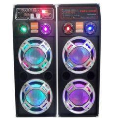 Set Boxe audio cu Statie amplificare , Bluetooth, USB, SD, 600 W, Radio FM