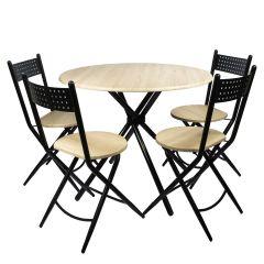 Set masa Kaliope cu 4 scaune