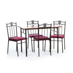 Set masa Victory cires cu 4 scaune