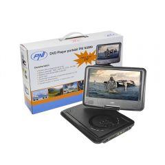 DVD Player PNI NS989 portabil cu ecran de 9 inch, slot card SD si USB