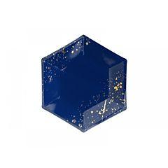 Farfurii din carton, hexagon, Albastru, 20cm, 6buc