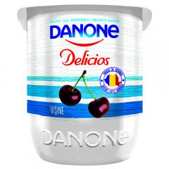 Iaurt Delicios cu visine 2% grasime Danone 125g