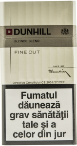 Tigari Dunhill fine cut alb