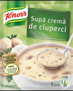Supa crema de ciuperci instant Knorr 52g