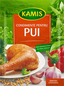 Condimente pentru pui Kamis 30g