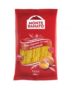 Fidea cu ou Monte Banato 200g
