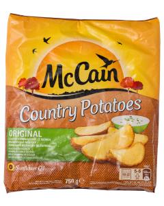 Cartofi wedges McCain Country Potatoes 750g