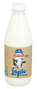 Lapte semidegresat Olympus 1.7% grasime 1L