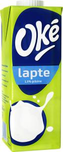 Lapte semidegresat Oke 1.5% grasime 1L