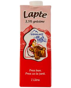 Lapte 3.5% grasime Covalact de Tara 1L