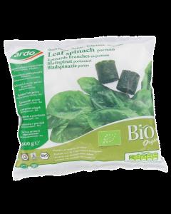 Spanac congelat portionat bio Ardo 600g
