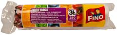 Pungi alimentare pentru 3kg Fino 250buc