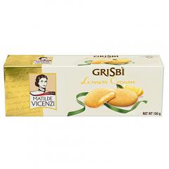 Biscuiti umpluti cu crema cu lamaie Grisbi Vicenzi 150g