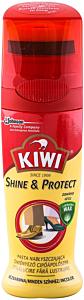 Crema lichida incolora pentru pantofi cu ceara de palmier Kiwi 75ml