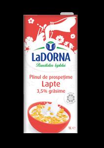 Lapte integral LaDorna 3.5% grasime 1L