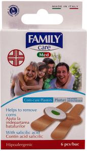 Plasturi cu acid salicilic pentru indepartarea bataturilor 6 B Family