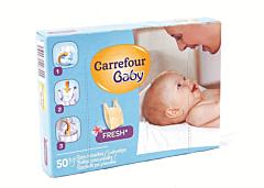 Pungi pentru scutece Carrefour 50bucati