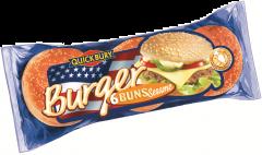 Chifle pentru Hamburger cu susan Quickbury 300g