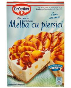 Mix pentru prajitura Melba cu piersici Dr.Oetker 252g