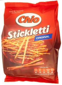 Sticks cu sare Chio Stickletti 250g