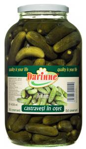 Castraveti in otet Darinne 4.1kg