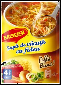 Supa de vacuta cu fidea Maggi 56g