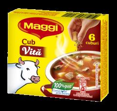 Baza pentru mancaruri Cub vita instant Maggi 54g