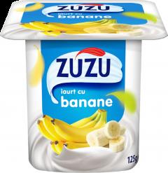 Iaurt cu banane Zuzu 125g